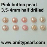 6135 Pink button pearl 3.5-4mm half drilled.jpg